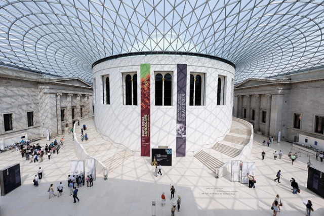 The Great Court in the British Museum